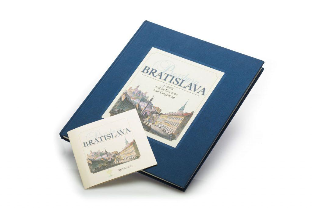 Obálka knihy Bratislava-Pressburg a okolie + CD